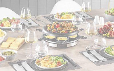 Appareil a raclette : mon comparatif et avis