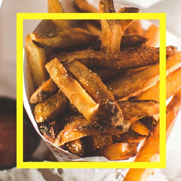 frite double cuisson parfaite